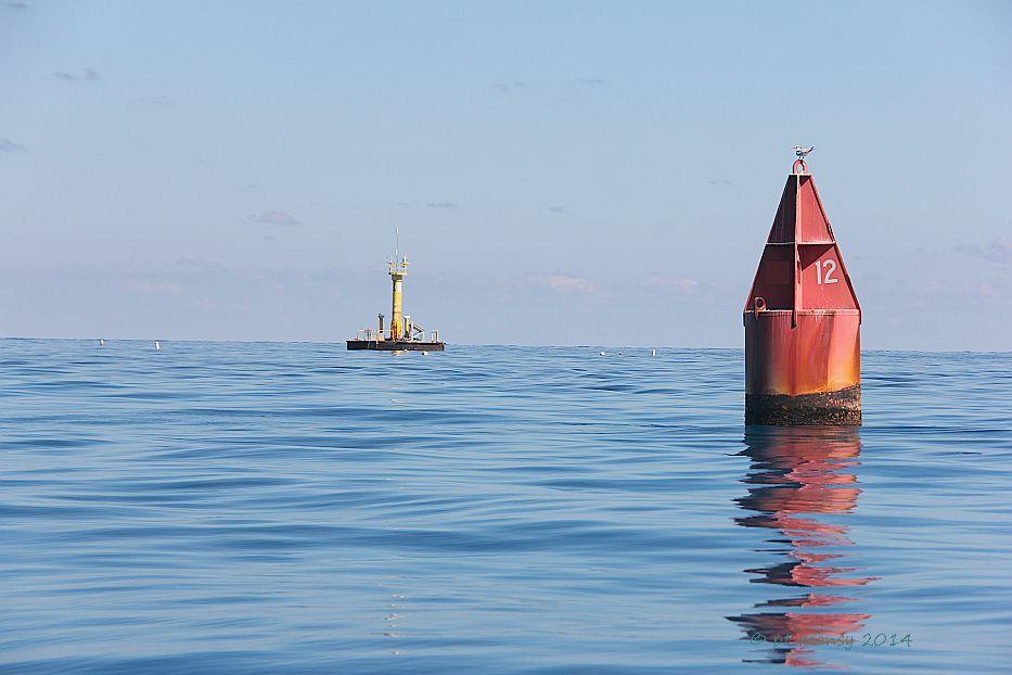 Hawk Channel, Florida Keys, Conch Reef Red Nun 12 Aquarius Underwater Laboratory