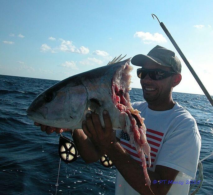 Hawk Channel Amberjack Fishing