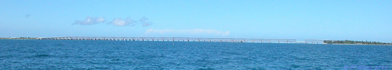 Hawk Channel, Bahia Honda Bridge, Florida Keys